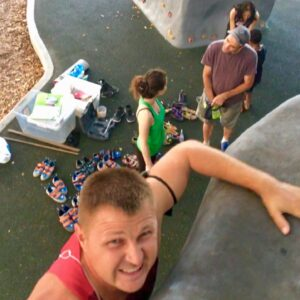 This weeks Bouldering session on the Cairns Esplanade