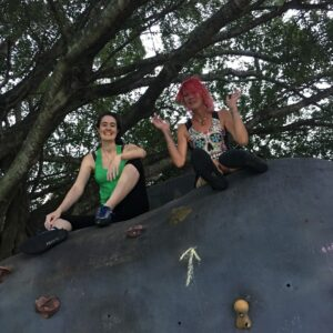 Monday afternoon Bouldering