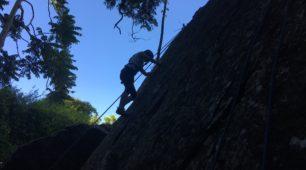 Winter rock climbing in Cairns
