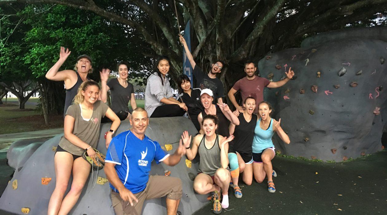 Cairns Esplanade Bouldering